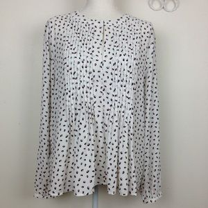 Ann Taylor size L long sleeves blouse